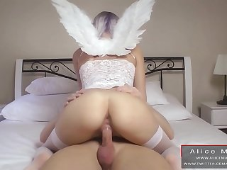 Rriding Style Compilation! Big Butt Girl!! AliceMargo.com