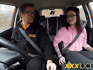 Drivers crammer instructor delivers creampie
