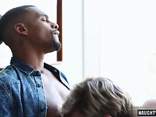 Large bushwa homosexual anal sex with facial