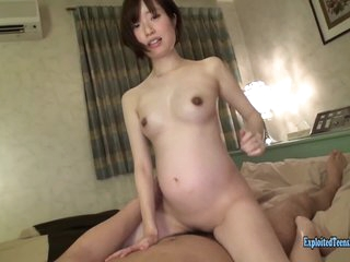Pregnant Jav Lay Teen Yamakawa Fucks To the utmost Handsome Girl Tries A Few Positions Wide Will not hear of Scratch