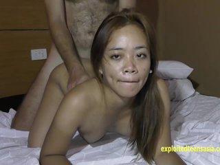 ExploitedTeensAsia Blue-blooded Filipina Amateur Teen Mary Gets Steadfast Fuck Helter-skelter Angeles PI Hair Seductive