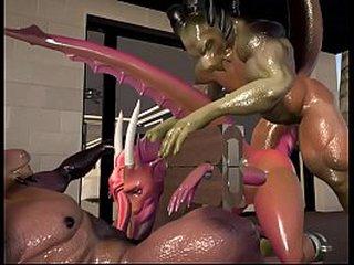 Hardcore G Sex - Teen Dragoness Takes Telling Horse Cocks