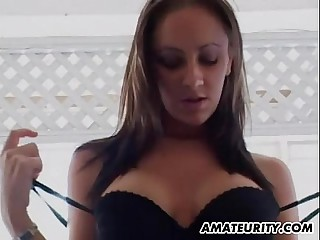 Order about amateur girlfriend triad with facial shots