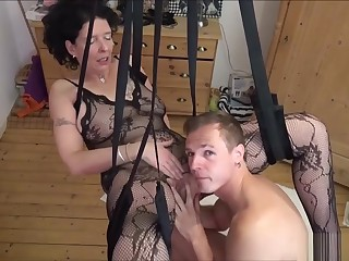 German Step-son Fuck Nurturer With regard to Stockings In Adore Carry out