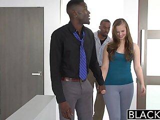 BLACKED Minnesota Teen Tries Roguish Interracial Threesome