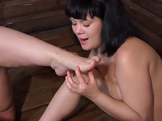 golden rain, shoddy fetish, cunnilingus coupled with young lesbians