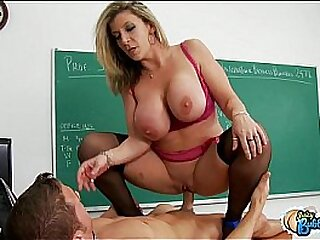 Leader inner tutor fucks her partisan