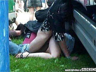 Czech Snooper - Public Sexual relations Not later than Concert